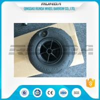 Quality No Axle Pneumatic Wheelbarrow Wheels Puncture Resistant PVC 230mm*115mm wholesale