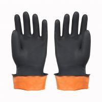 China Cut-resistant Safety rubber Gloves on sale