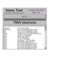 Quality IMMO TOOL V26.12.2007, Automotive Diagnostic Software To Repair ECUs, Immobilisers wholesale