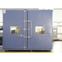 Buy cheap Walk-in Chamber / Climatic Test Chamber Environmental Rooms Moisture Temperature from wholesalers
