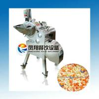 China high quality SS304 onion dicing machine,onion cutting machine cut into cube on sale