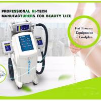 Quality Cool Shaping Cryolipolysis Fat Freezing Machine Multi Language Floor Standing wholesale