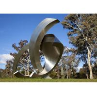 Quality Garden Large Modern Abstract Stainless Steel Decorative Sculpture wholesale