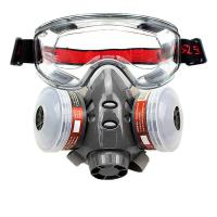 Quality Rubber Gas Respirator Mask , N95 Gas Face Mask Small Breathing Resistance wholesale