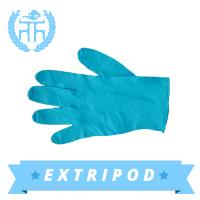 China blue Premium blue nitrile gloves on sale