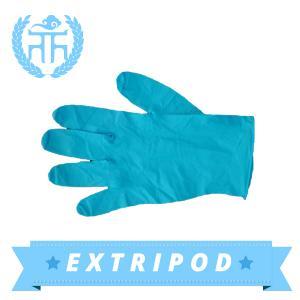 China blue Premium blue nitrile gloves on sale