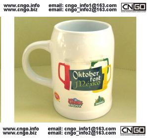 Quality EXPORT beer mug ceramic cup custom LOGO 500ML beer mug for youself design wholesale