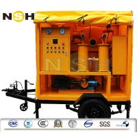 China Low Noise Oil Regeneration Transformer Oil Filtration Above 110KV With Easy Handling on sale