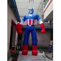 Quality 15 FT High Hot selling The Avengers Inflatable Captain America Model For Advertisement/Street Decoration wholesale