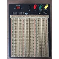 Quality 2420 Points Colored Coordinates Brown Power Supply Breadboard With Metal Case wholesale