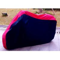 Quality 100% Waterproof Motorcycle Cover For Harley Davidson Black + Red wholesale