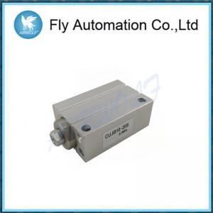 China Aluminium Alloy Pneumatic Air Cylinders Double Acting CUJB4-6D CUJB10-20S on sale