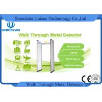 Quality Multi Zones Security Gate Walk Through Metal Detector UB700 4KHZ - 8KHZ wholesale