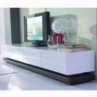 Quality TV stand with MDF, high glossy and painting wholesale