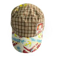 Quality Summer Outdoor Childrens Fitted Hats Peaked Caps For Men With Printing Word / Pattern wholesale