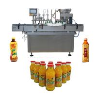 Quality JB-YG4 Bottle Drink Water Automatic Liquid Filling Machine Line 50 - 500ml Filling Volume wholesale