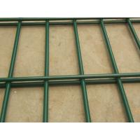 China Schools plastic coated Wire Mesh Fence with Curved Fence Panel on sale