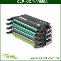 China Color Toner Cartridge Samsung Clp-k/C/M/Y660a on sale