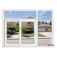 Cheap White Material Aluminum Sliding Windows And Doors 1.4mm Profile Thickness for sale