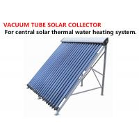 China Durable Vacuum Tube Solar Collector Stainless Steel Mounting Floor Stand on sale