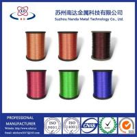 Quality Enameled Aluminum Wire, EAW for motor, Pew/Polyester, SWG11-38, factory supply enameled wire wholesale