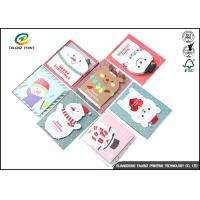 Quality Personalised Recycled Gaphic Paper Greeting Cards For Craft Gifts CMYK Color wholesale