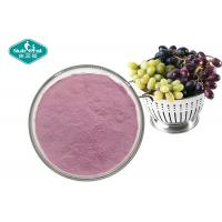 Quality 100% Pure Natural Fruit And Vegetable Powder , Soluble Purple Grape Juice Powder wholesale