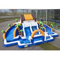 Quality Commerial Outdoor Inflatable Water Slides Waterproof For school wholesale