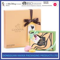 Quality Colorful Printing Rigid Gift Boxes Chocolate / Candy Packaging Boxes Handmade wholesale