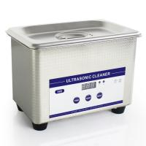Quality 0.8L Heated Ultrasonic Eyeglass Cleaner Stainless Steel Dental Ultrasonic Cleaner wholesale