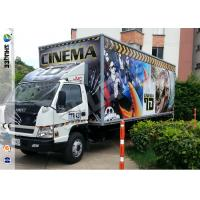 Quality Popular Truck Mobile 7D Cinema System With 9 Black Leather Pneumstic Seats wholesale