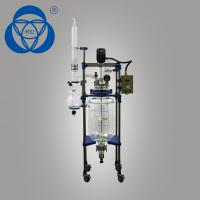 China Anti Corrosion Laboratory Reactor Vessel , Borosilicate Glass Reactor High Vacuum Degree on sale