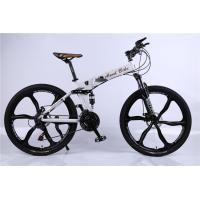 Quality Factory price OEM 6 spoke mag alloy wheel Shimano 21/24/27/30 speed aluminium alloy chinese folding MTB bicycle wholesale