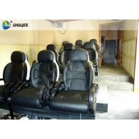 Quality Black Luxury Seats 7d Simulator Cinema Motion Chair In Genuine Leather Material wholesale