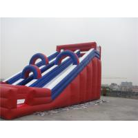 China Musement Park Giant Inflatable Water Slide For Rent Fire Resistance on sale