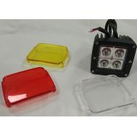 Cheap Cube Clear Cover LED Lights Vehicle Accessories 2 X 2 12V Jeep Truck Lighting for sale