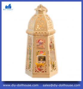 Quality Mini Dollhouse Toy Model House Diy Dollhouse Miniature Educational Toy Craft Gift I002 wholesale