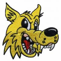 Quality machine Embroidery design digitizers wolf WCR10901 for T-Shirts and Blanket wholesale