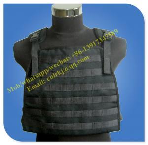 Quality aramid molle level 4 anti bullet military vest wholesale