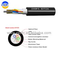Cheap Steel Tape Armored Flame Retardant Cable Jacket 2-144 Core GYTZA High Strength for sale