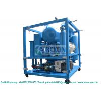 Quality Weather Proof Type Bipolar Vacuum Dielectric Oil Purifier Machine 12000Liters/Hour wholesale