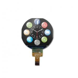 Quality 65K Color  240x210 1.08Inch Round TFT Display For Mobile Device wholesale