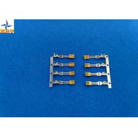Quality Ptich 1.27mm Wire Connector Terminals, SATA crimp terminals With Phosphor Bronzne Material wholesale