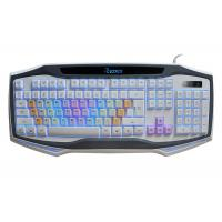 Quality USB Wired Adjustable Backlit Gaming Computer Keyboard Rainbow Color Keycap wholesale