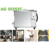 Quality 84L Tank Ultrasonic Engine Cleaner Power Adjustable With Drying / Filtering Option wholesale