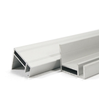 China 6063 6061 Aluminum Extrusion Profiles  200mm Width Solar Panel Frame on sale