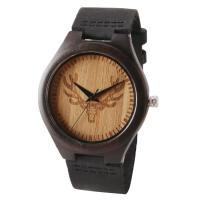 Quality Water Proof Unisex Wooden Quartz Watch Multi Functional Mineral Glass Most Accurate wholesale