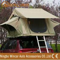 Quality 3 - 4 Person car Top Tent Water resistance polyester for Trailer wholesale