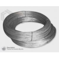 Quality Titanium and Titanium Alloy Wire wholesale