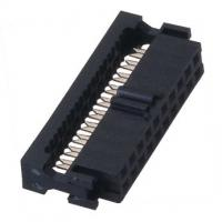 Quality F TYPE WCON Female Idc  Connector Socket PBT black Cable Connector wholesale